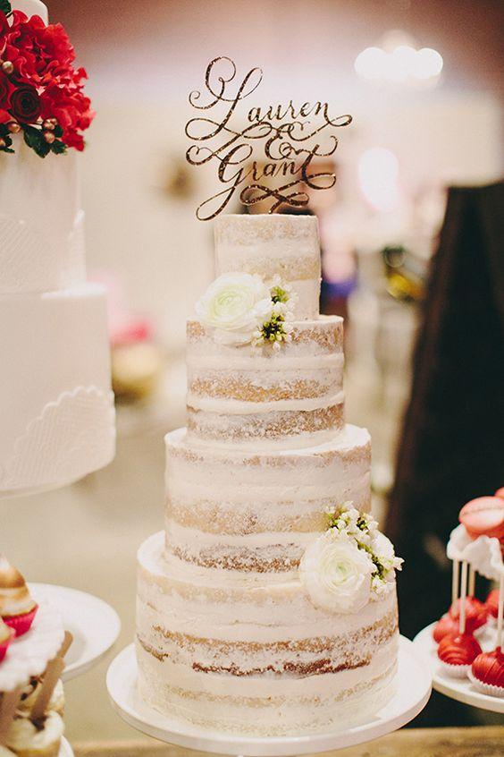 Nude cakes, la nueva tendencia en pasteles de bodas | Novias